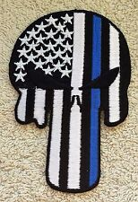 THE PUNISHER PATCH American Flag Badge Marvel Comics Thin Blue Line Spiderman