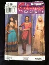 Simplicity Costumes For Adults 4249 Uncut Size 6,8,10,12 Andrea Schewe
