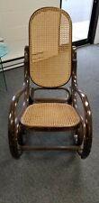 Bentwood rocking chair - Thonet style