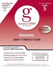 Geometry GMAT Strategy Guide, Guide 5 Manhattan GMAT Preparation Guides, 4th E