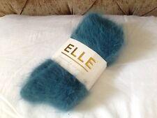 NEW Elle *Heavenly* Angora Socks Blue 80% Angora - Discontinued