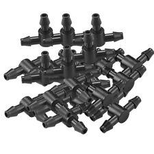 50 Micro Bewässerung T Joiner Connector 4mm Hozelock kompatibel für Gewächshaus