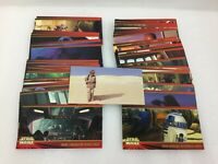 Star Wars Phantom Menace Episode 1 Topps Widevision Trading Cards INCOMPLETE (2)