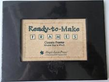 """Ready to Make Frames~Maple Lane Press~ Black - Window 4 5/8"""" x 3"""""""