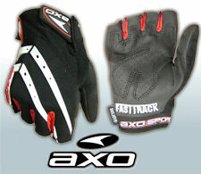 AXO Fastrack Fingerless Gloves Cycling MTB  Size 12 XXL   Grey/Red/Black
