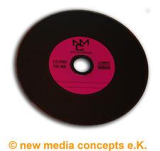 Vinyl CD-R Carbon,50 Stück in Cake,700 MB zum archivieren, Dye schwarz Lila