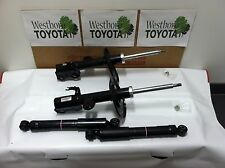 Toyota Rav4 2009-2012 New OEM Base & Limited Model Front Struts & Rear Shocks
