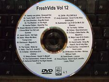 FRESHVIDS VOL 12 MUSIC VIDEO DVD TWENTY ONE PILOTS TAYLOR SWIFT ONE DIRECTION