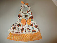 M Dog dress [gobble] cotton handmade