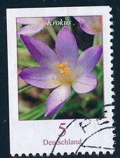 Gestempelte Briefmarken aus der BRD (ab 2000) mit Blumen-Motiv