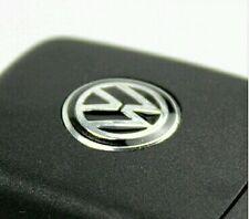 14mm Black Remote Key Badge Audio Emblem Sticker For VW Volkswagen Golf Polo Dub