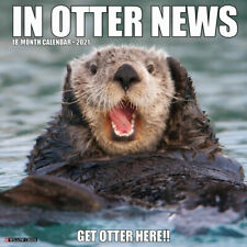 In Otter News 2021 Wall Calendar (Free Shipping)