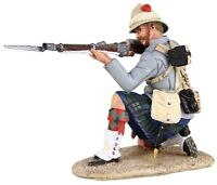 BRITAINS SUDAN WAR 27058 BRITISH 42ND HIGHLANDER CASUALTY ON BACK MIB