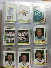 Panini Euro 2000 Full Set Of Stickers + Empty Album