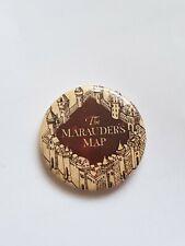 The Marauders Map Harry Potter Badge