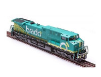 Original Miniature Electric Locomotive AC44i Brado 9061 HO Frateschi Collectible