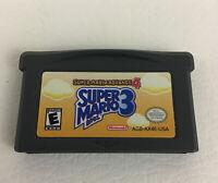 Nintendo Game Boy Advance Super Mario Bros 3 Video Game Cartridge Rated E 2003