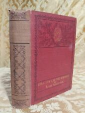 1911 King Tom and the Runaways SIGNED Antique Book Decorated Binding Georgia
