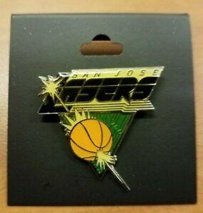 ABL AMERICAN BASKETBALL LEAGUE 1996-99 SAN JOSE LASERS TEAM PIN * PRE WNBA *