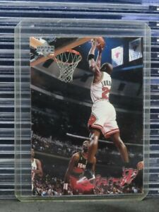 1997-98 Upper Deck Michael Jordan Chicago Bulls Jams '97 Card #139 O19