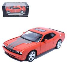 Maisto 1:24 DODGE Challenger SRT8 Diecast Metal Model Car Orange New