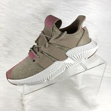 Adidas Originals Prophere J Trace Khaki Textile Youth Trainers Size 6 New