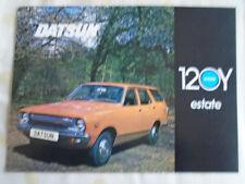 Datsun 120Y Estate brochure Oct 1974