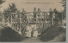 17 - CPA CHATELAILLON - Le Parc - Pont rustique