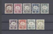 BRUNEI 1895 SG 1/9 USED Cat £390