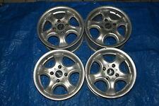 FELGEN ALUFELGEN Satz LEICHTMETALLFELGEN Honda Rover 7JX15H2  ET35 KBA 45231