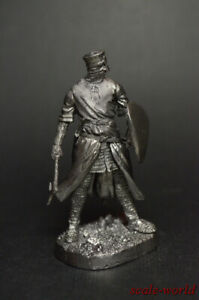 1/32 Tin soldier Knight crusader figure metal soldiers 54mm