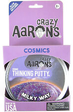 MILKY WAY Crazy Aaron's COSMICS Glow in the Dark Glitter Thinking Purple Putty