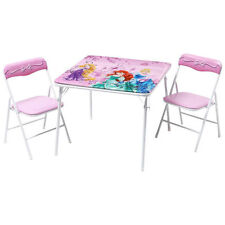 Children's Metal Table and Chair Set
