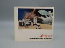 """Original 1960 """"LEICA M3"""" Brochure"""