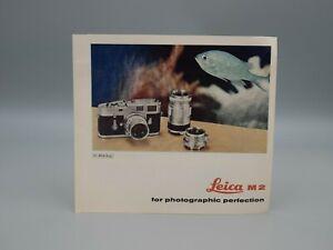 """Original 1961 """"LEICA M2"""" Brochure"""
