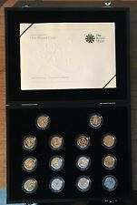 United Kingdom One Pound Coin 25th Anniversary - Silver Proof Collection