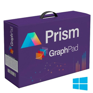 GraphPad Prism 9 ⚡ Lifetime Activation ✅ Latest Update ⚡Windows 64bit