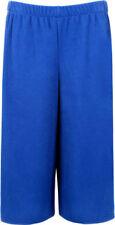 Pantalones de mujer sin marca color principal azul de poliéster