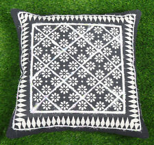 Cotton Dari Embroidered Cushion Cover Bohemian Decorative Throw Pillow Cover