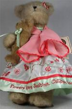 Boyds Bears 'Momma Bearsworth With Lil Blossom' Flowers.#4017004 New With Tag!