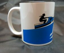 Reproduction Vintage Sno Jet Dealer Sign Snowmobile Logo Coffee Mug