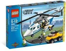 LEGO 3658 City Police Helicopter Robber - Retired Set (2011) New In Sealed Box