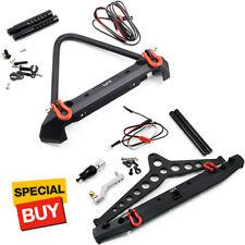 Yeah Racing Alum Alloy Front / Rear Bumper w/ LED Light :Axial SCX10 II  / TRX-4