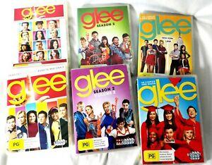 GLEE SEASONS 1 2 3 4 DVD - Free Postage Within Australia