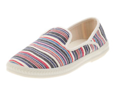 NEW ROCKET DOG DRIVE SLIP ON LOAFERS SHOES WOMENS 8 STRIPED SLIP ON  FREE SHIP