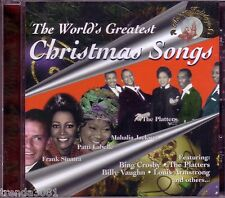 Worlds Greatest Christmas Songs Classic 50s PLATTERS LOUIS ARMSTRONG LOU MONTE