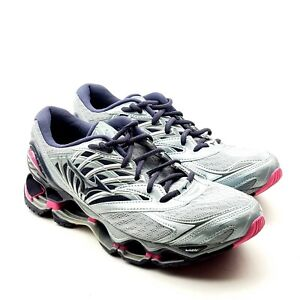 Mizuno Wave Prophecy 8 Womens Quarry/Graphite Running Shoes 10.5 UK 8 EUR 42