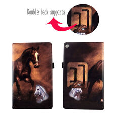 Case For Kindle Fire HD 8 inch 2016 Tablet 6th Cover ID Pocket Stylus Holder