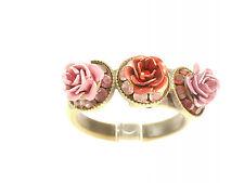 Rosa Templin  Ring   3 Rosen  Gr. 56