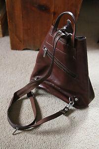Lango Paris brown Leather Bag